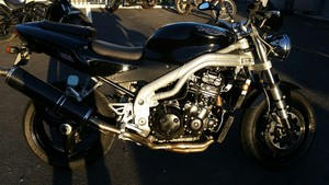 Occasion Triumph Speed Triple 955 Noire de 2002