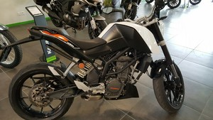 Occasion KTM 125 DUKE ABS 2013 Blanc