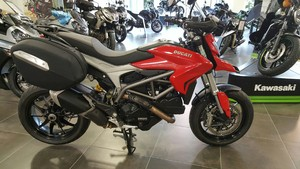 Occasion Ducati 820 Hyperstrada 2013 rouge