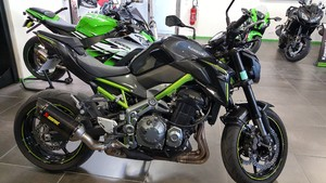 Occasion Kawasaki Z900 ABS 2017 Grise Cadre vert 5337kms