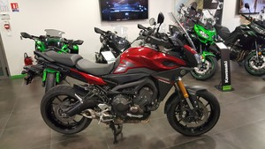 Occasion Yamaha MT-09 Tracer ABS 2015 Rouge Garantie 12 mois