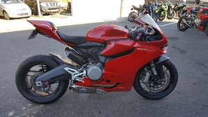 Occasion Ducati 899 Panigale ABS Rouge 2016 Garantie 12 mois