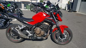 Occasion Honda CB500 F ABS Rouge 2016 Garantie 12 mois A2