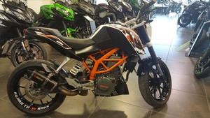 Occasion KTM 390 DUKE ABS 2015 Blanc